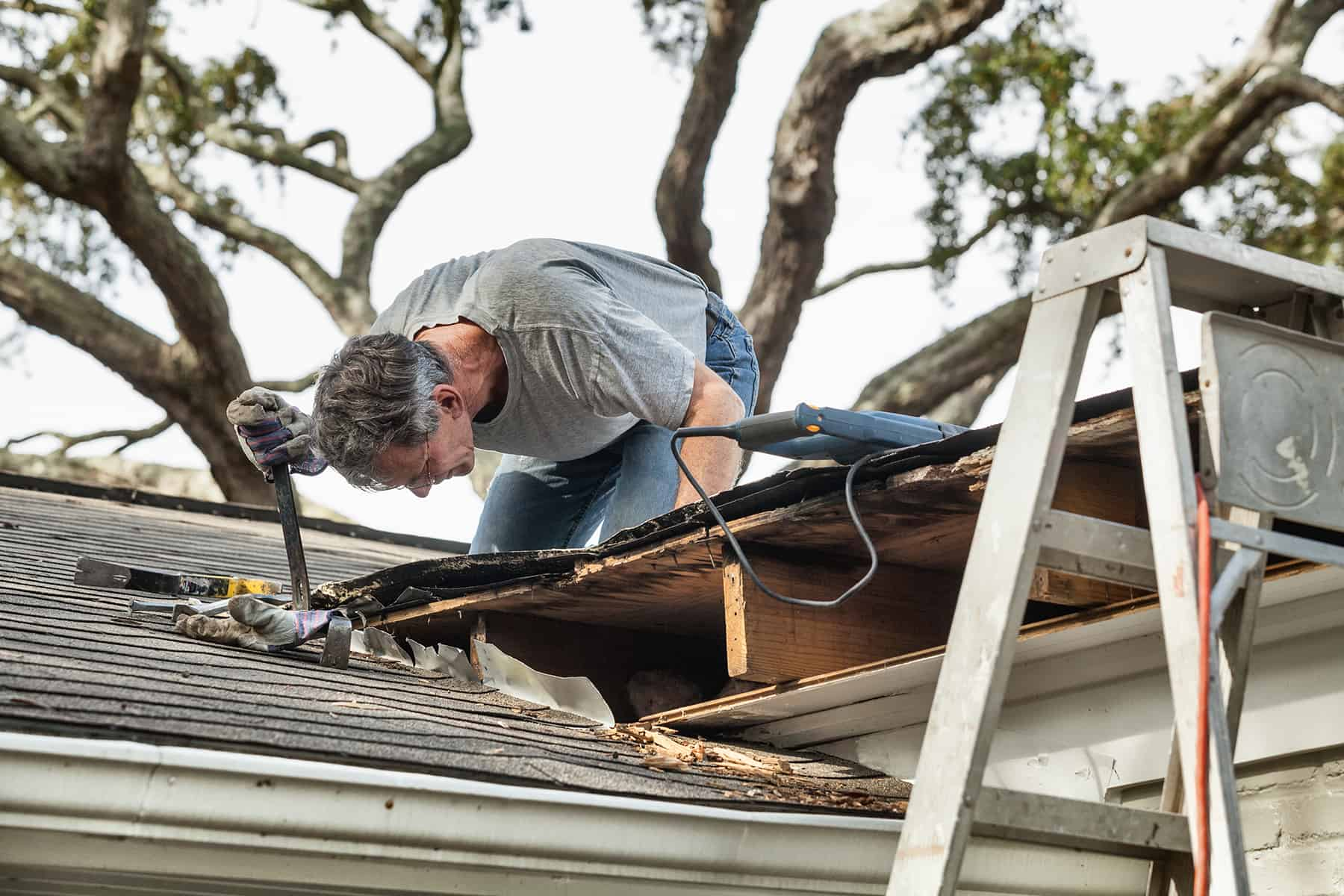 age of roof and insurance
