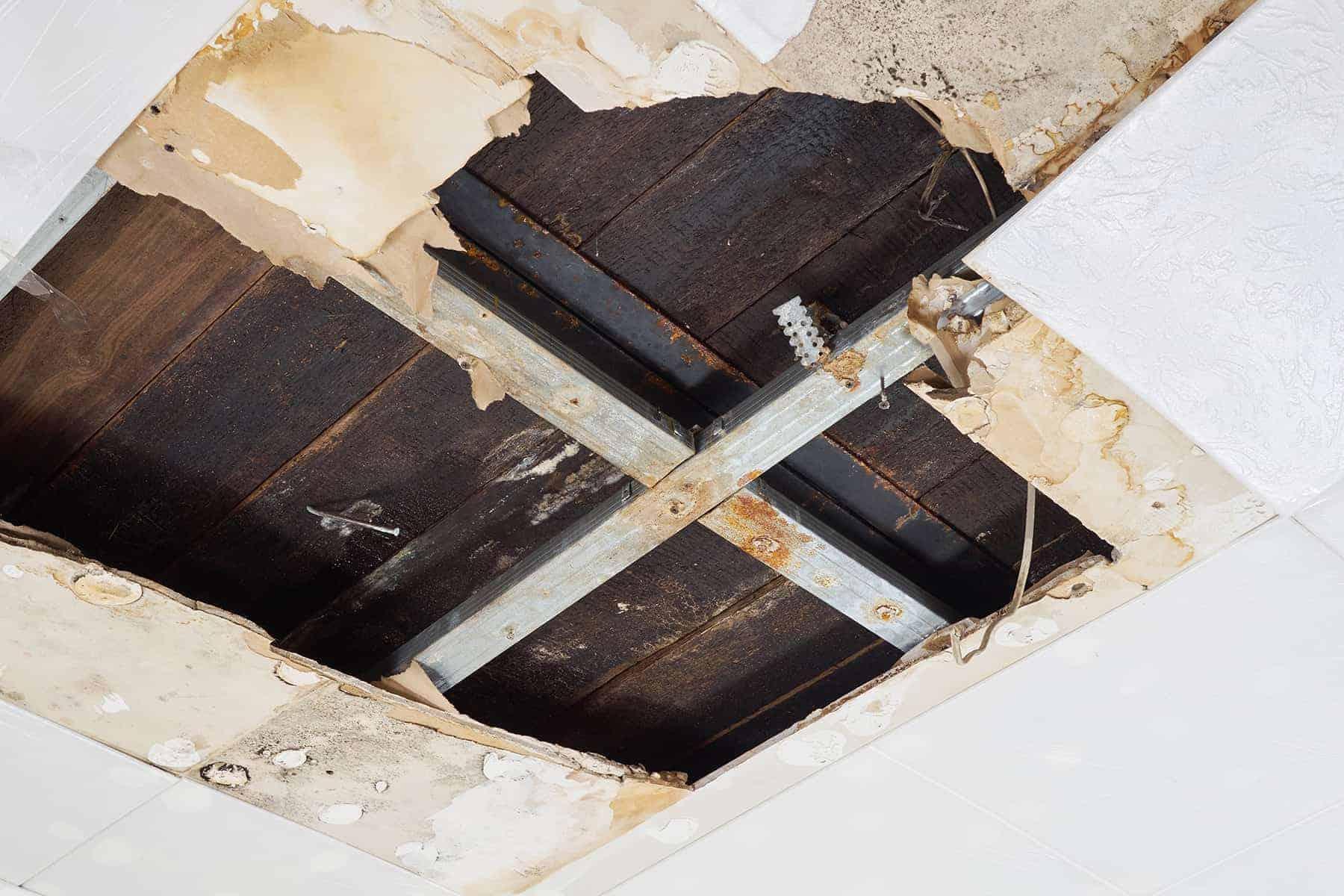 протечки крыши