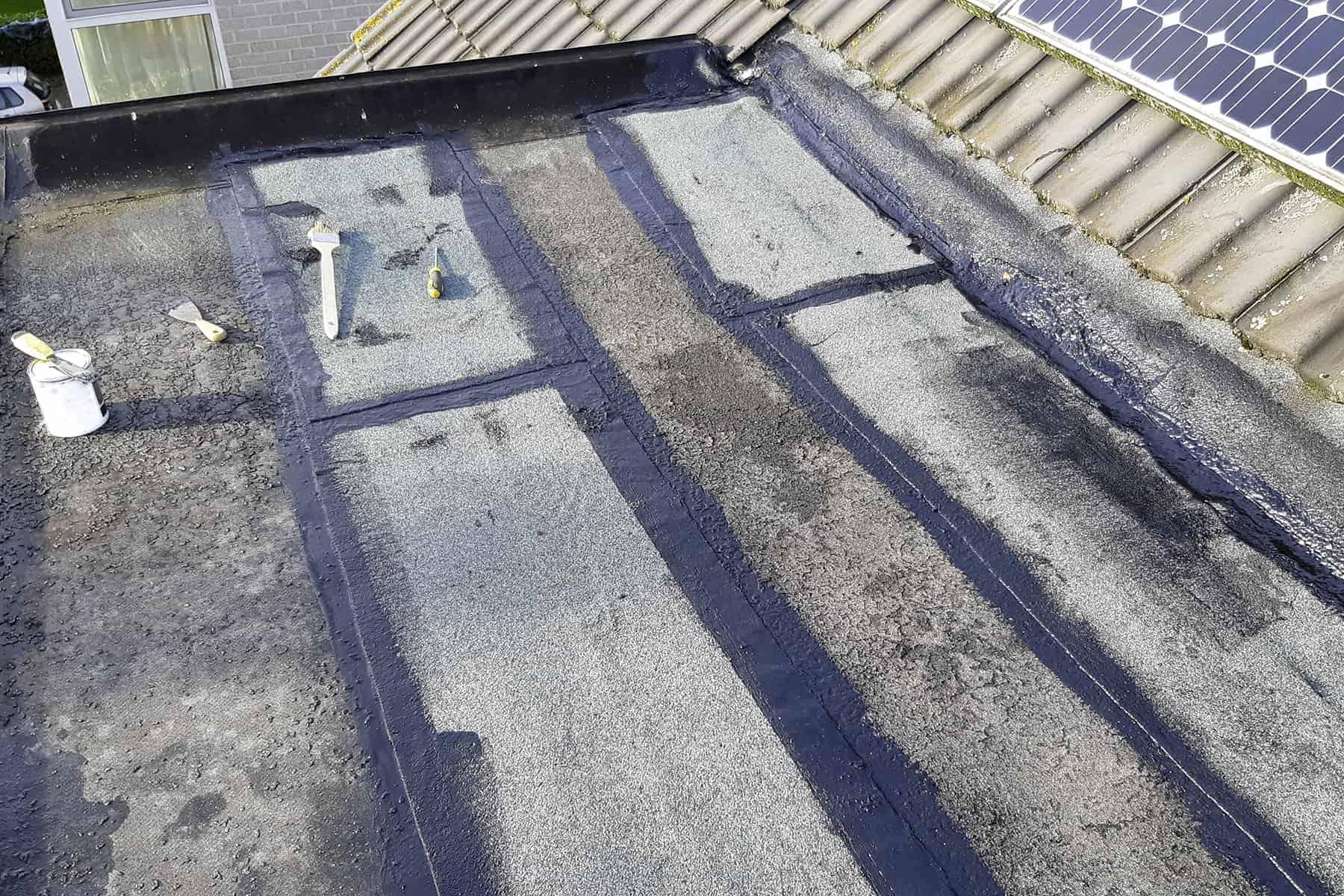 протекает плоская крыша