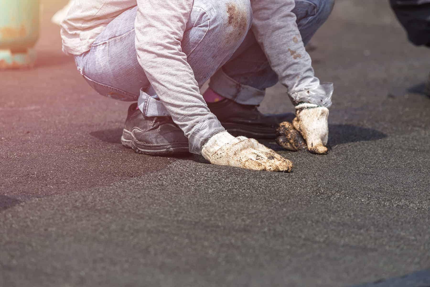 как исправить протекающую плоскую крышу